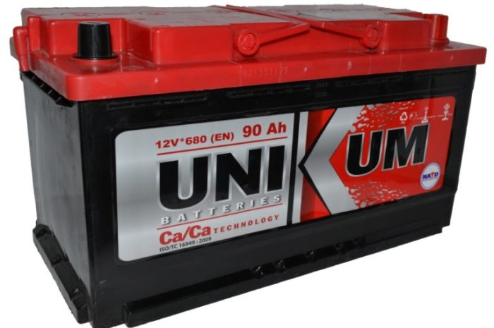 Аккумуляторная батарея UNIKUM 90 Ah оп