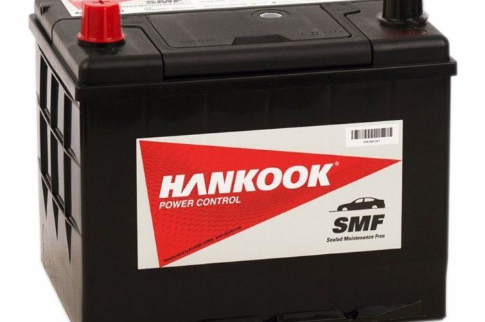 Аккумуляторная батарея HANKOOK 26R-550  60Ah ПП (Юж. Корея)