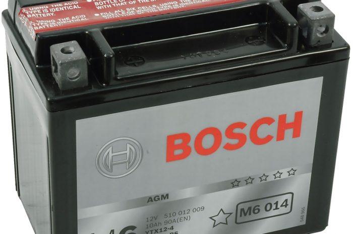 Аккумулятор Bosch M6 014 AGM (YTX12-BS)