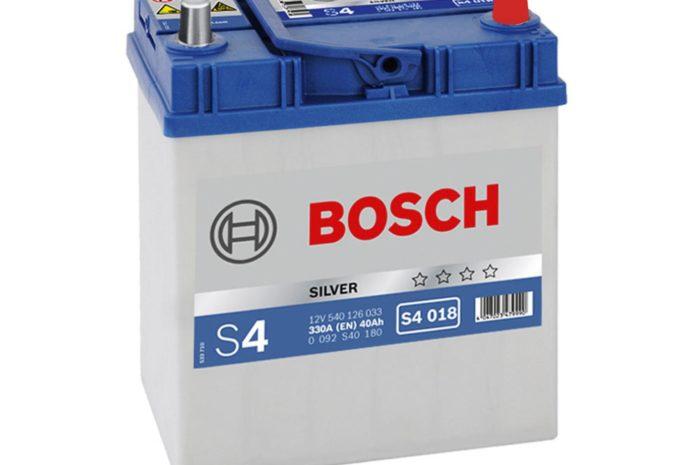 Аккумуляторная батарея BOSCH SILVER S4 018