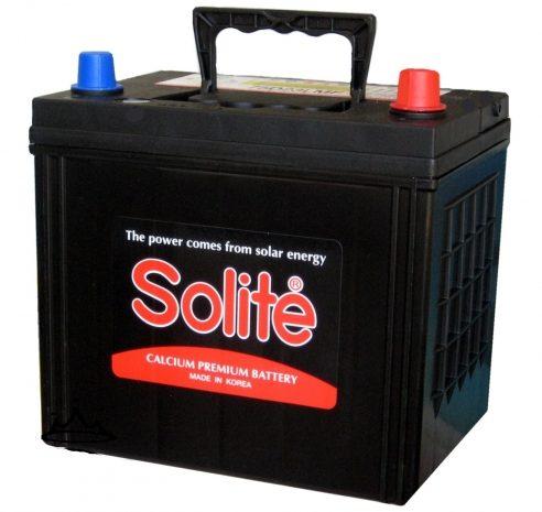 Аккумуляторная батарея  SOLITE  50Ah 55B19L