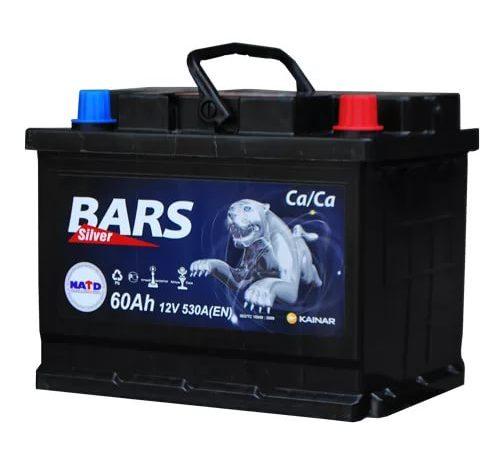 Аккумуляторная батарея BARS Silver 55 Ah ОП
