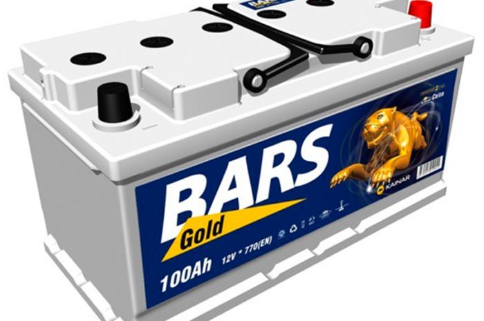 Аккумуляторная батарея BARS GOLD 100Аh ОП