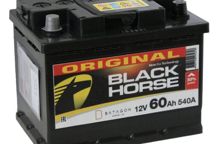Аккумуляторная батарея Black Horse 60 Ач ОП D24 СЕРБИЯ