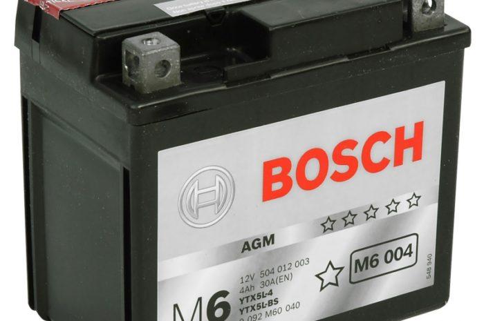 Аккумулятор Bosch M6 004 AGM (YTX5L-BS)
