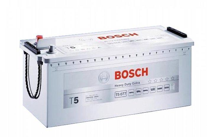 Аккумуляторная батарея BOSCH SILVER PLUS 225 Ah (T5080) грузовая
