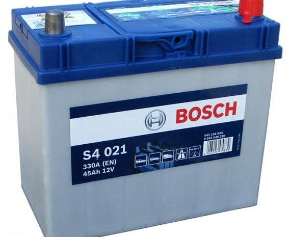 Аккумуляторная батарея BOSCH SILVER S4 021