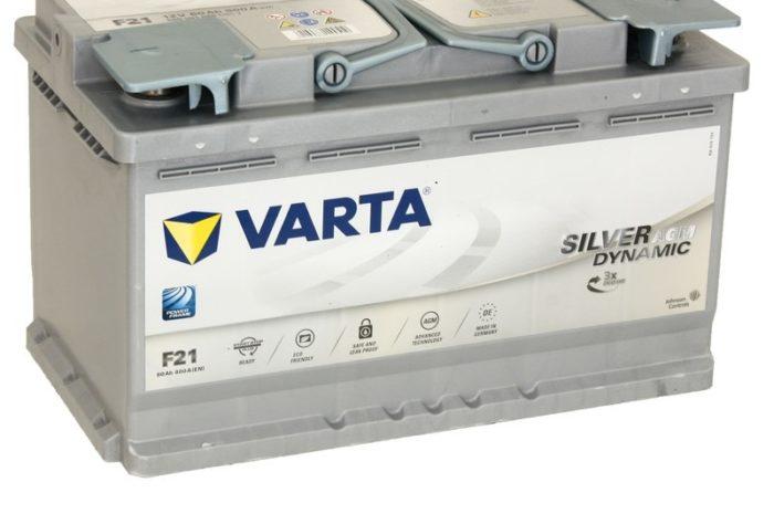 Аккумуляторная батарея VARTA SILVER dynamic AGM H15 (605 901 095)