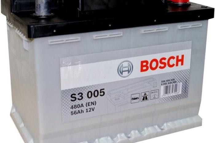 Аккумуляторная батарея BOSCH S3 005