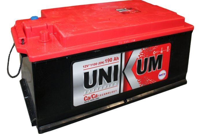 Аккумуляторная батарея UNIKUM 190 Ah оп