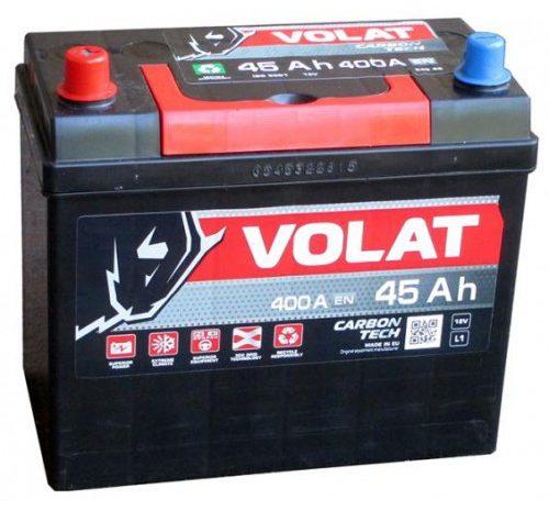 Аккумуляторная батарея VOLAT 45 Ah 400A ПП